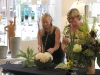 The Art of Flower arranging in a vase by the Parmentier's